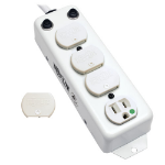 """Tripp Lite PS-415-HG-OEM power extension 180"""" (4.57 m) 4 AC outlet(s) Indoor White"""