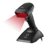 Adesso NuScan 2500CR Handheld bar code reader 1D CCD Black