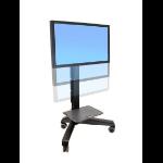 Ergotron Neo-Flex Mobile MediaCenter VHD Black Flat panel Multimedia cart
