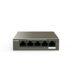 Tenda TEG1105P-4-63W network switch Unmanaged L2 Gigabit Ethernet (10/100/1000) Black Power over Ethernet (PoE)