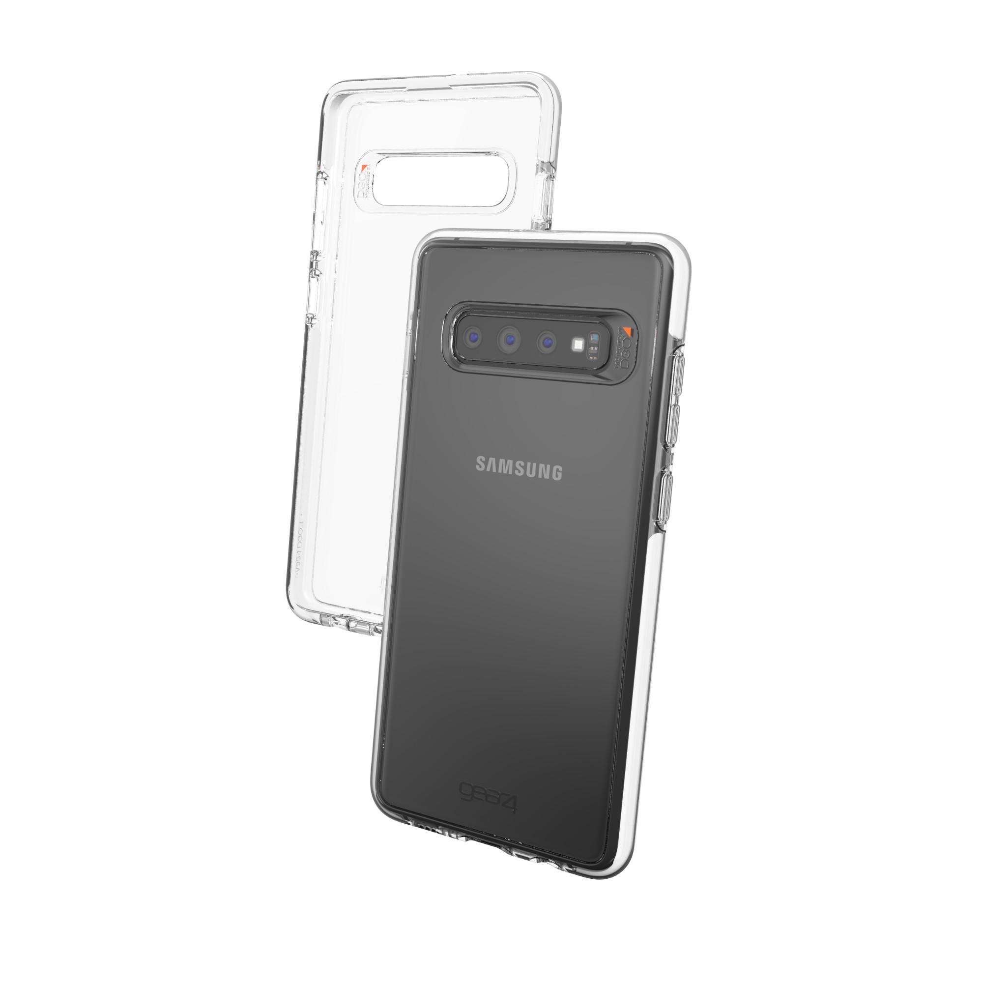 "GEAR4 Piccadilly funda para teléfono móvil 16,3 cm (6.4"") Negro, Transparente"