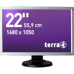 "Wortmann AG Terra 2230W PV, Greenline Plus 22"" LED Black, Silver computer monitor"