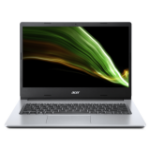 "Acer Aspire 3 A314-35-P8JF Notebook 35.6 cm (14"") 1920 x 1080 pixels Intel® Pentium® Silver 4 GB DDR4-SDRAM 128 GB SSD Wi-Fi 5 (802.11ac) Windows 10 Home S Silver"