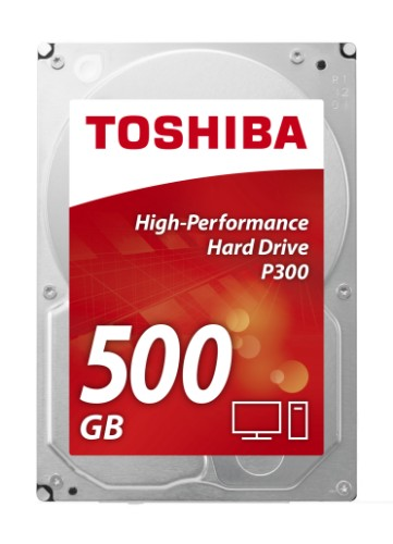 Toshiba P300 500GB HDD 500GB Serial ATA III internal hard drive