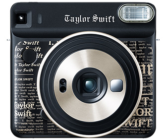 Fujifilm Instax Square SQ6 CO Edition (Taylor Swift) instant print camera 62 x 62 mm Black,Gold