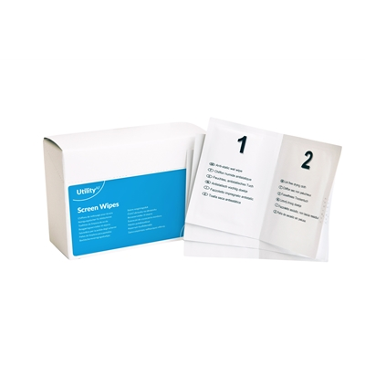 AF Utility Range Wet and Dry Screen Wipes 20 Pack