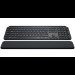 Logitech MX Keys Tastatur RF Wireless + Bluetooth QWERTY UK Englisch Schwarz