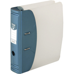 Hermes Lever Arch File Polypropylene Capacity 50mm A4 Metallic Blue Ref 832007