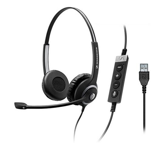 Sennheiser SC 260 MS II Binaural Head-band Black headset