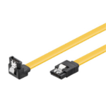 Microconnect SAT15003A1C6 0.3m Black,Yellow SATA cable