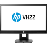 "HP VH22 54.6 cm (21.5"") 1920 x 1080 pixels Full HD LED Flat Black"