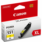 Canon 6446B001 (CLI-551 YXL) Ink cartridge yellow, 695 pages, 11ml