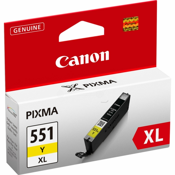 Canon 6446B001 (551 YXL) Ink cartridge yellow, 695 pages, 11ml