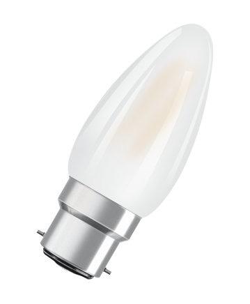 Osram Retrofit Classic B LED bulb 4 W B22d A++