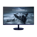 "Samsung SyncMaster C27H580FDU LED display 68.6 cm (27"") Full HD Curved Matt Black,Blue"
