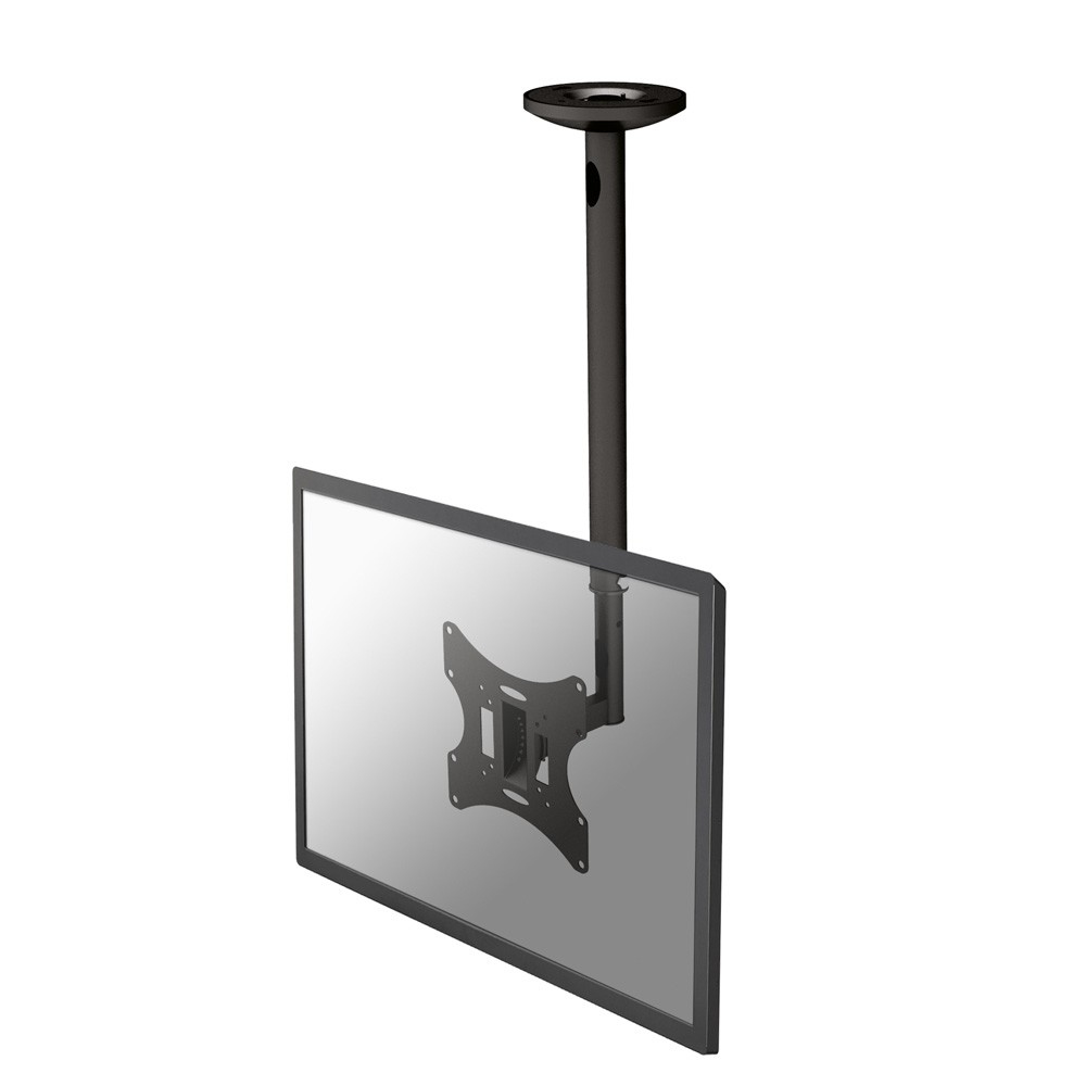 Newstar FPMA-C060BLACK flat panel ceiling mount (up to 40'' / 20kg)