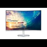 "Samsung C27F591FDU LED display 68,6 cm (27"") Full HD Curva Plata, Blanco"