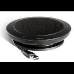 Jabra Speak 410 UC luidspreker telefoon Universeel USB 2.0 Zwart