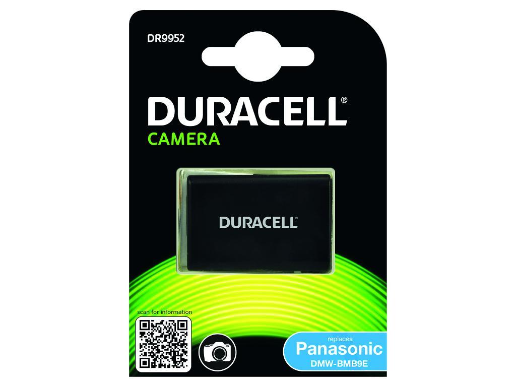Duracell Camera Battery - replaces Panasonic DMW-BMB9E Battery