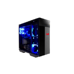In Win 509 ROG Full-Tower Black,Red computer case