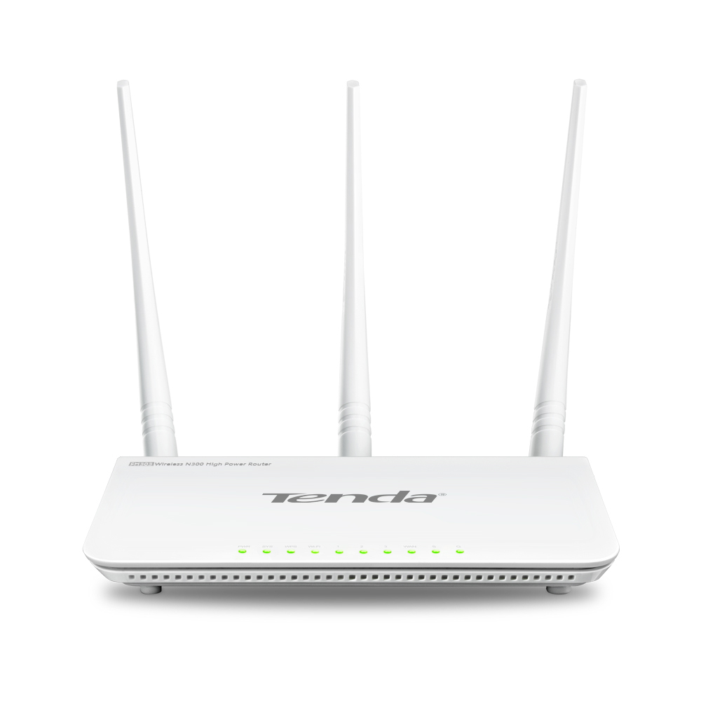 Tenda FH303 Dual-band (2.4 GHz / 5 GHz) Fast Ethernet wireless router