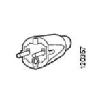 Cisco CAB-AC-2800W-EU= power cable Black 4 m CEE7/7 C19 coupler