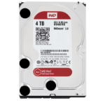 Western Digital Red 4000GB Serial ATA III