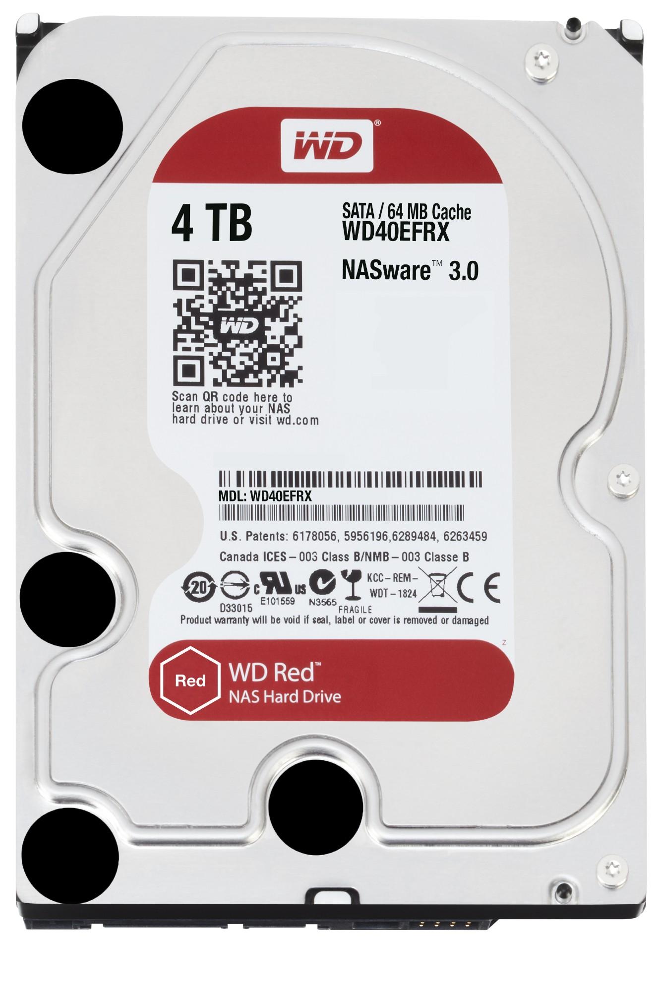 "Western Digital Red 4TB 3.5"" 4000 GB Serial ATA III"