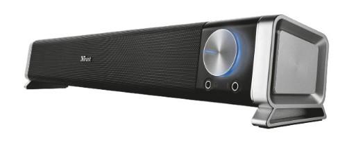 Trust Asto soundbar speaker 6 W Black,Silver