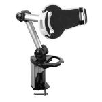 Brateck 2-IN-1 Aluminum Tablet Desk Clamp Holder (Desk Stand/Wall Mount) For Most 7'-10.4' Tablets