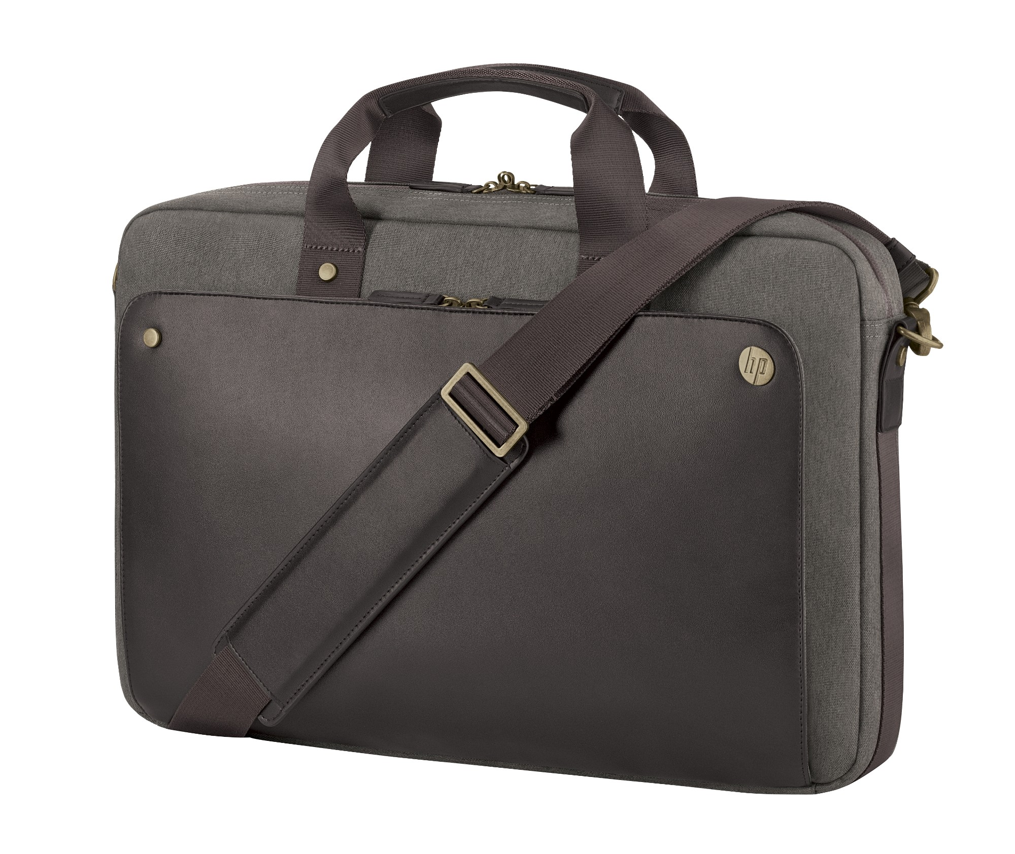 HP 15.6 Executive Brown Top Load notebook case