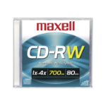 Maxell 630010 CD-RW 700MB 1pcs Read/Write CD