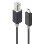 ALOGIC 2m USB 2.0 Type-B to Type-C Cable - Male to Male - Pro Series