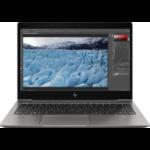 """HP ZBook 14u G6 Mobile workstation 35.6 cm (14"""") 1920 x 1080 pixels 8th gen Intel® Core™ i5 8 GB DDR4-SDRAM 256 GB SSD AMD Radeon Pro WX 3200 Wi-Fi 5 (802.11ac) Windows 10 Pro Black"""