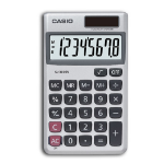 Casio SL-300SV calculator Pocket Basic Silver