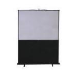 "Metroplan Leader Portable Floor Screen 80"" 16:9 Black,White projection screen"