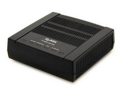 ZyXEL Prestige 660R-D1 ADSL2+ Black