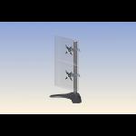 """Ergotech Group 100-D28-B11 flat panel desk mount 21"""" Black"""