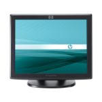 "HP Compaq L5009tm touch screen monitor 38.1 cm (15"") 1024 x 768 pixels Black Tabletop"