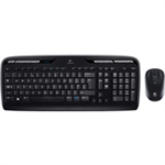 Logitech MK330 RF Wireless QWERTY English Black keyboard
