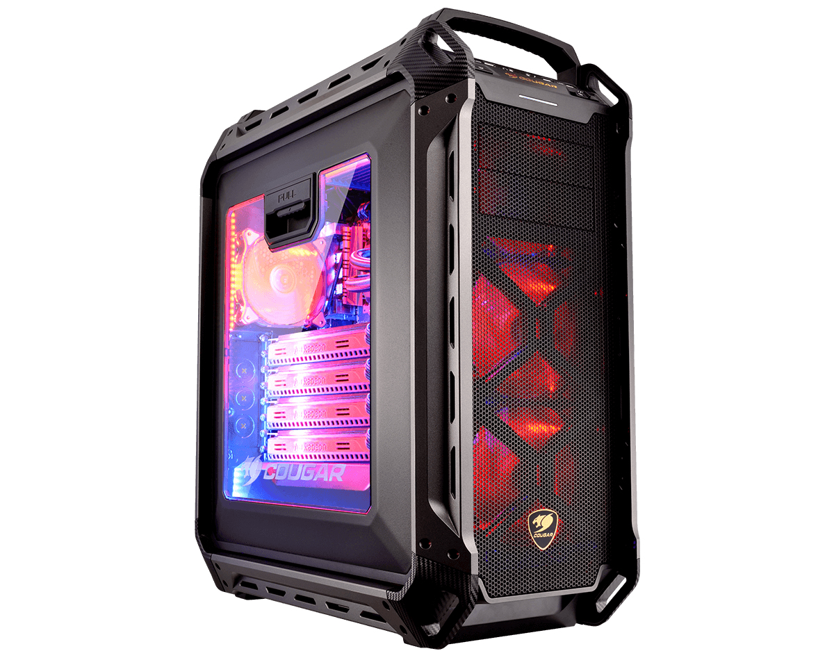 Cougar Panzer MAX Full-Tower Black computer case