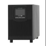 ONLINE USV-Systeme XANTO 700 Double-conversion (Online) 700VA 4AC outlet(s) Tower Black uninterruptible power supply (UPS)