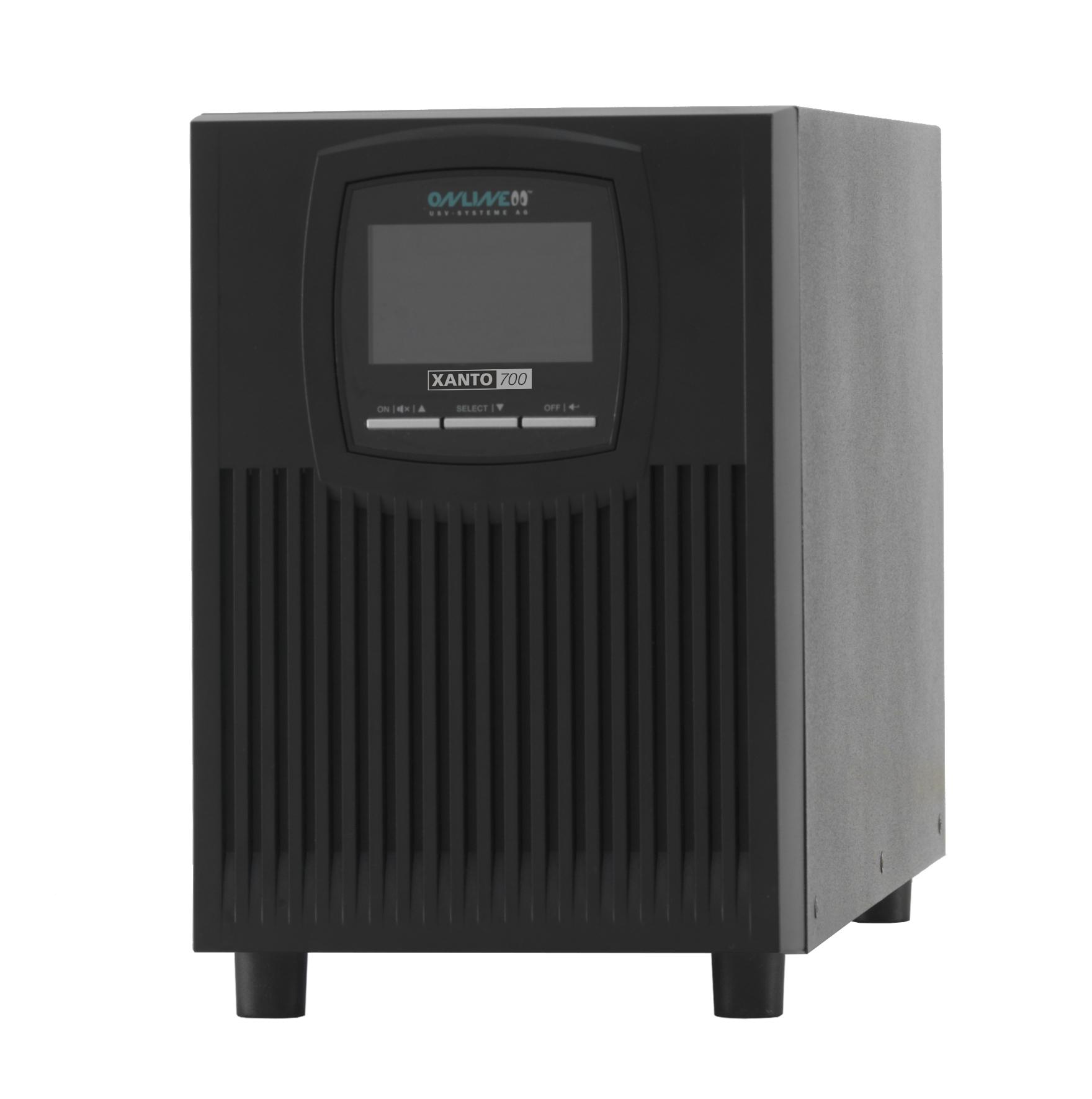ONLINE USV-Systeme XANTO 700 uninterruptible power supply (UPS) Double-conversion (Online) 700 VA 70