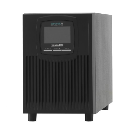 ONLINE USV-Systeme XANTO 700 uninterruptible power supply (UPS) Double-conversion (Online) 700 VA 700 W 4 AC outlet(s)