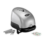 Rexel Polaris 1420 Electric Stapler & Punch Silver/Black
