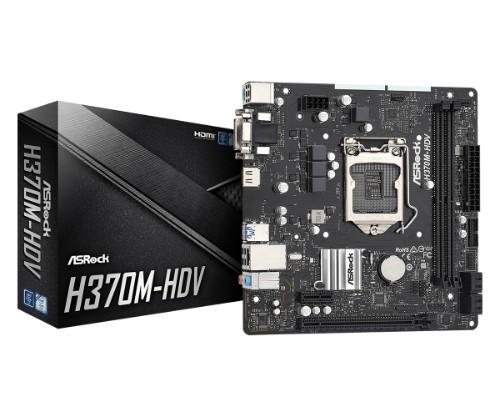 Asrock H370M-HDV motherboard Intel® H370 LGA 1151 (Socket H4) ATX