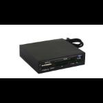 Tacens Anima ACR2 lector de tarjeta Interno USB 3.0 Negro
