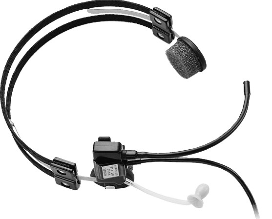 POLY MS50 Headset Head-band Black