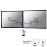 """Newstar FPMA-D1330DWHITE 27"""" White flat panel desk mount"""