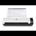 HP Scanjet 1000 Sheet-fed scanner 600 x 600DPI A4 Negro, Color blanco